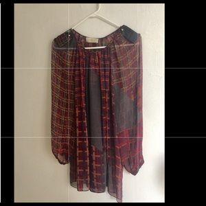 ZIMMERMAN  Silk Tunic